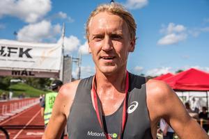 Förra veckan satte David Nilsson banrekord på Ultravasan 45 kilometer och i lördags satte han nytt banrekord på Skördeloppet på tio kilometer med tiden 32 minuter och 53 sekunder.Foto: Christer Schapiro / Redhorse Photo