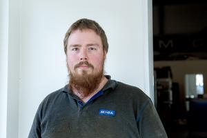 Glenn Johansson, 27 år, mekaniker, centrala Fränsta: