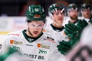 Ludvig Elvenes, som spelade delar av förra säsongen i Modo Hockey, spelar numera i Tingsryd. Bild: Maxim Thoré/Bildbyrån