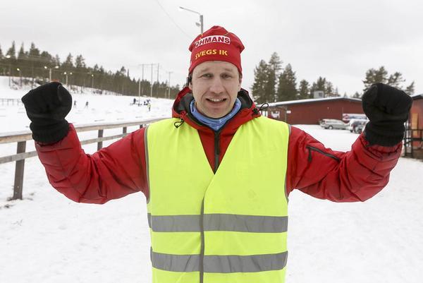 Fredrik Busk, tävlingsledare, var mycket nöjd med lördagens tävlingar.