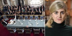 Krisen för Akademien startade när en av ledamöternas make anklagades, och senare dömdes, för sexuella övergrepp. Den som avslöjade det hela var journalisten Matilda Gustavsson.