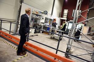 Mats Thörnqvist vill sätta en stämpel på företaget som en verksamhet i framkant vad gäller miljöarbete.