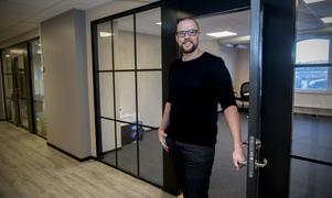 Mattias Östman är ansvarig för marknadsbyrån Oh My som nu etablerats i Härnösand.