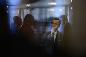 Ulf Kristersson (M) lyckades inte bli accepterad av Riksdagen som statsminister under sitt första försök. Foto: Stina Stjernkvist / TT