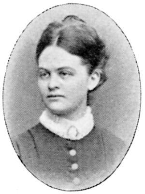 Karin Arosenius var skriven i Folkärna från 1910 till sin död 1932. Hon ställde ut på Världsutställningen i Paris 1885 och på Salongen i Paris 1885 och 1886. Foto: Okänd fotograf, Svenskt porträttgalleri / Wikimedia Commons