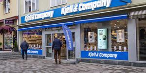 Kjell & Companys butik i centrala Bollnäs.