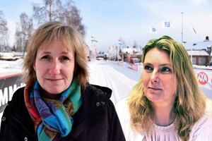Anna Hed (C), kommunalråd och Rose-Marie Bogg (C), ordförande i för- och grundskolenämnden, är positiva till den nya friskolan. Montage: Stefan Rämgård