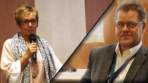 De båda förvaltningscheferna Ingrid Sundström och Kenneth Forssell är eniga om att socialpsykiatrin organisatoriskt bör ligga under omsorgsförvaltningen.