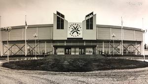 Västeråshallen 1990. (I dag heter den Bombardier Arena)