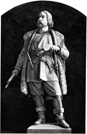 Engelbrekt står i dag staty på Stortorget i Örebro. Arkivbild