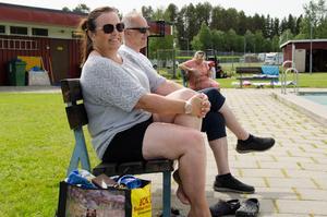 Norska Ane-Mette är den typiska turisten på Strömsunds camping - från Norge och resande med barn. - Vi kommer gärna tillbaka, säger hon.