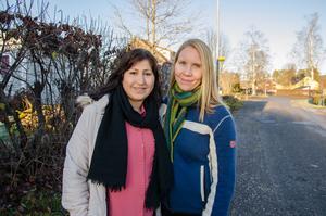 De började som språkvänner – nu har Shirin Ibrahim och Emma Sjöström blivit kompisar för livet.