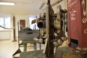 Axel Larsson biografmaskin, men patentet blev Axel lurad på.