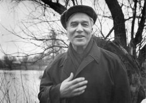 Boris Pasternak i Moskva 1958. Foto: AP