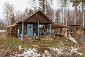 Ett fritidshus i Vinäs, Mora kommun, var det näst mest klickade dalaobjektet på Hemnet under vecka 48.Foto:  SkandiaMäklarna