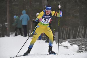 Johanna Skottheim tog sin andra raka sprintseger i IBU-cupen.