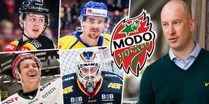 Vill det sig väl kan Modo kamma hem flera miljoner i spelarersättning ersättning från NHL i år. Johan Widebro berättar att klubben också räknar med en viss intänkt i sin budget – men inte några jättesummor.