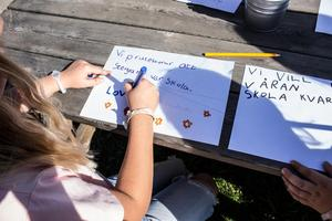 Att det finns en närliggande skola är i många fall avgörande för familjer att flytta till landsbygden. Därför bör inte byskolor i Falu kommun läggas ner, skriver företrädare för Sverigedemokraterna.