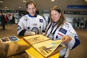 Tomas Andersson och Lisa Sokol har LIF att tacka för att de träffades.