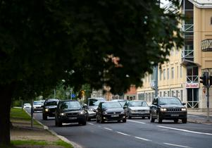 Micke tror inte på att införa dieselförbud – men kanske kan en begränsning av biltrafiken göra skillnad. Bild: Robin Nordlund
