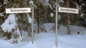 Det militära lever kvar på många sätt i terrängen runt Sollefteå.