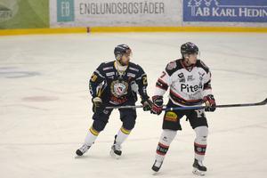 Matej Galbavy höll med tränaren om att Borlänge hade en svag inledning i matchen mot Piteå.