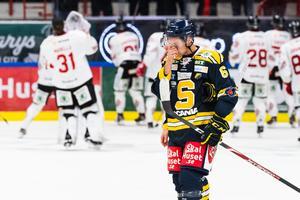 Martin Janolhs deppar efter förlusten mot Vita Hästen. Foto: Simon Hastegård / Bildbyrån