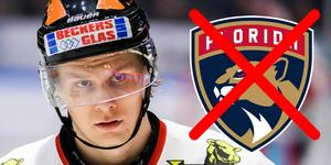 Foto: Bildbyrån. Det blir inget spel i NHL för tidigare Örebro-målkungen Rodrigo Abols den närmaste tiden.