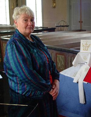 Anna Lindström (S), kyrkorådsordförande i Bräcke-Nyhems pastorat.Foto: Ingvar Ericsson