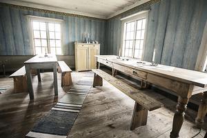 Det här rummet var troligtvis det vi i dag kallar vardagsrum.