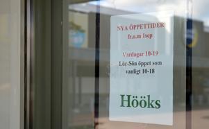 Från första september ändrade flera butiker på Norra  Backa sina öppettider.
