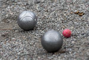 Boulespel.   Foto Jonas Ekströmer / SCANPIX