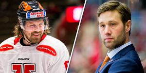 Stefan Warg och Henrik Löwdahl ser gärna att laget lyckas ta den sista play in-platsen. Bild: Bildbyrån