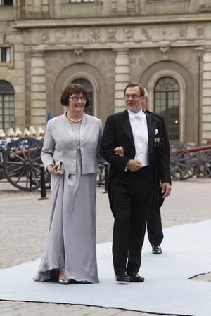 Prins Daniels föräldrar, Ewa och Olle Westling.