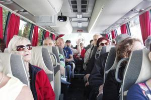 Kerstins Taxi har anordnat de guidade bussturerna under decennier. Foto: NP/arkiv