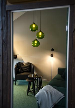 Tysta rum finns till för bland annat besök, samtal eller om personalen vill vara ifred.