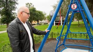 Sune Andersson (S) får återigen frågan från insändarskribenten Ann-Christine Andersson om hur gungan i Vilhelminaparken. ska bli mer tillgänglig för rullstolsburna.