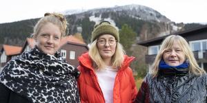 Evelina Lundqvist, Maria Wilhelmsson och Jeanette Wahl arbetar för att få en kulturarena till Åre.