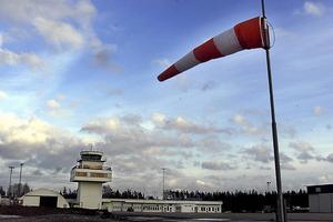 Rörbergs flyplats. Arkivbild.