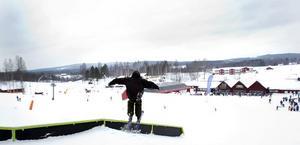 ALLT UTHYRT. Kungsberget sportlovsdebuterar i år som riktig skidort med samtliga 40 lägenheter uthyrda inför Stockholmsveckan som börjar på måndag.