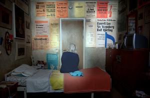 Hon har många affischer att minnas till. Bild: Gustaf Ahlgren.