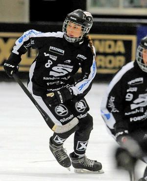 Hanna Snäll gjorde två mål på tre matcher i årets World Cup. Bild: Stewe Jonsson
