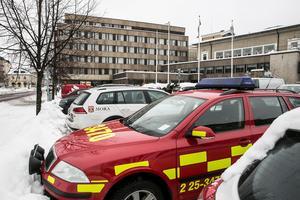 Några minuter i tre, natten mot tisdagen, fick First Hotel Grand i Falun utrymmas på grund av kraftig rökutveckling.