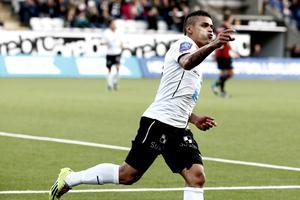 Daniel Sobralsense gjorde två mål mot Brommapojkarna 2014. Arkivfoto: Daniel Patiño Flor