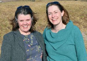Anna-Karin Jobs Arnberg och Maria Sjögren har känt varandra i 30 år och spelat tillsammans i både Dalarna och Stockholm. Nu satsar de på ett gemensamt kulturarrangemang.