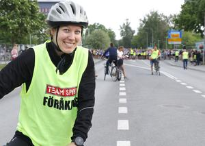KFUM Örebros spjutkastare Elisabeth Lithell var föråkare.