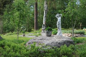 Solnymfen på Solgläntan har fira nationaldagen.