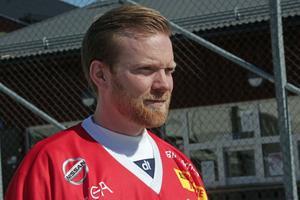 Patrik Hedberg, tillbaka i Falu BS efter många år i Hammarby.