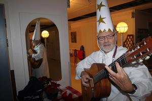 Lillebror Alf Granberg har varit en uppskattad och trogen gäst varje luciamorgon på äldreboendet sedan 1970.