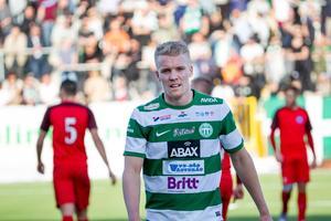 Simon Johansson hade VSK:s bästa möjlighet i slutet.